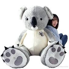 jumbo stuffed s blue teddy bear big giraffe walmart whole canada
