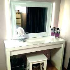 Contemporary Makeup Vanity Modern Set With Lights Bedroom Table ...