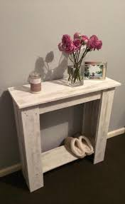 furniture made from pallet wood. upcycled pallet hallway table furniture made from wood o