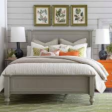grey bed frame full. Contemporary Bed With Grey Bed Frame Full