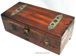 wooden chest with lock small wooden chest with lock small wooden chest small wood chest antique