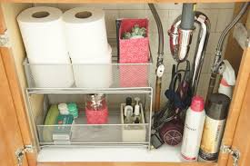 bathroom under sink storage ideas. Color Coordinating Accessories When Organizing Under The Bathroom Sink Storage Ideas