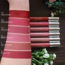 1 18 ready wardah exclusive matte lipcream wardah lip cream