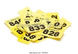 Raffle Ticket Stock Photos & Raffle Ticket Stock Images - Alamy Raffle tickets close up - Stock Image