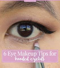 6 eye makeup tips for hooded eyes