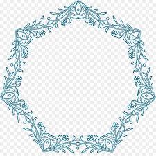 euclidean vector pixabay flower border