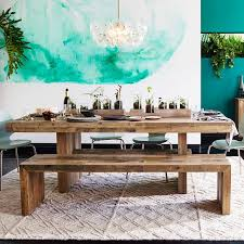 indoor dining table with bench seats. embrace the relaxed style of indoor picnic tables dining table with bench seats