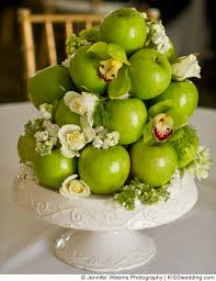 wedding table decorations using apples   Budget-friendly Ideas for Simple,  Classic Wedding Table