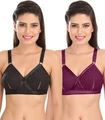 Sona Sona Perfecto Women Full Cup Everyday Plus Size Cotton