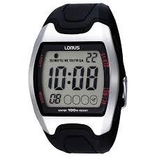 lorus watches h samuel lorus men s black digital watch product number 9449493