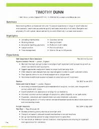 Resume Template 10 Years Experience Chronological Resume Sample ...