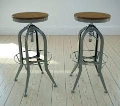restoration hardware counter stools current vintage swivel bar r35