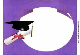 Invitacines De Graduacin De Primaria Para Modificar E Imprimir