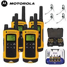 motorola tlkr t80. 10km motorola tlkr t80 extreme two way radio walkie talkie travel quad pack with 4 x headsets tlkr