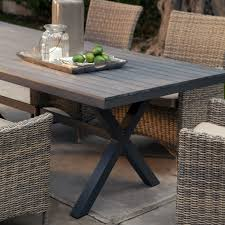 high top patio dining table. belham living bella all weather wicker 7 piece patio dining set - seats 6 | hayneedle high top table t