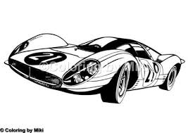 Cool Racing Car Coloring Page 215 Coloring Design ぬりえ