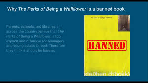 banned book project the perks of being a wallflower