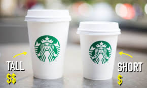 Image result for starbucks tall
