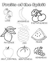 Fruit Of The Spirit Coloring Pages Joy O Alphabet Helpstudentloans