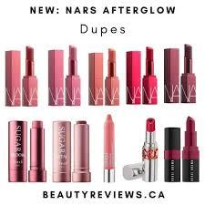 nars afterglow lip balm dupes beauty