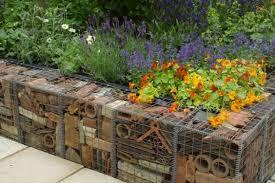 cheap garden edging. Tile Garden Edging Ideas Cheap N