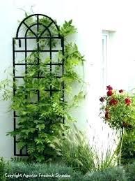 metal wall trellis panels garden trellises bunnings uk m
