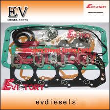 For Toyota forklift 1Z engine overhal gasket+cylinder head gasket ...