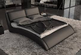 modern platform beds master bedroom furniture leather modern platform bed
