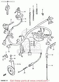 suzuki gs650g 1982 z e01 e02 e04 e06 e16 e18 e21 e22 e24 e39 wiring harness schematic