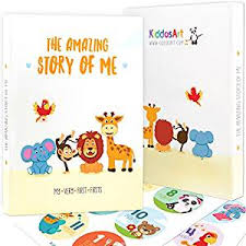 Animal Photo Albums Limited Promo The Amazing Baby Memory Book By Kiddosart Keepsake Journal Scrapbook Photo Album Record Memories And Milestones Of The First 5