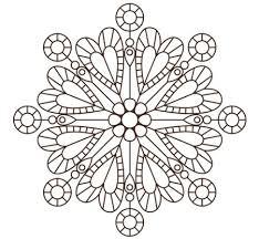 Mandala Di Cuori Mandala Per Bambini