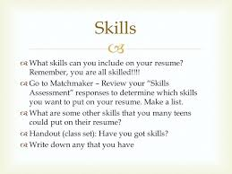 Great Skills For Resume Skills Put Resume Great Skills To Put On