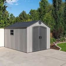 costco lifetime storage shed page 7