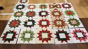 Nimble Thimbles & Here are the awesome Christmas Star blocks won in October! Congratulations  Nancy and Cindy! Nice job to all who participated! Adamdwight.com