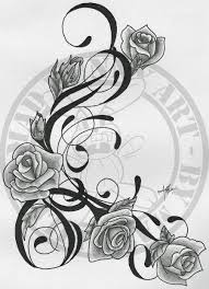 rose vine tattoo designs. Perfect Rose Rose Vine Tattoo Designs  Google Search With Rose Vine Tattoo Designs A