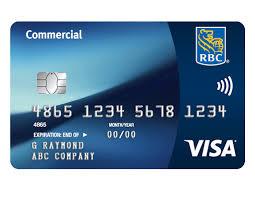 Rbc - Bank Royal Commercial Card Visa