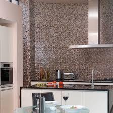 Charming Monochrome Mosaic Splashback | Black And White Kitchens   10 Of The Best | Kitchen  Design