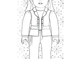 Coloring Pages Of American Girl Dolls Doll Coloring Pictures Girl
