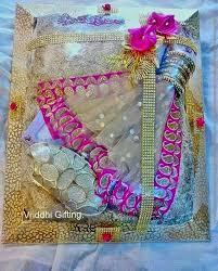 Saree Tray Decoration Indian Wedding Trousseau Gift Packing Gift Packing Weddings 7