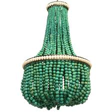 turquoise beaded chandelier 1235 plus from inside out colour and design