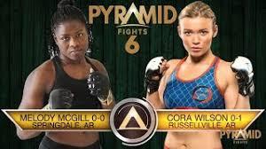 PF6 Melody McGill vs Cora Wilson - YouTube
