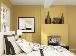 One Wall Color Bedroom Bedroom Painting Considering The Metallic Wall Color For One Of