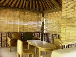 shades light brown square traditional wood and bamboo bamboo deck shades varnished ideas glamorous