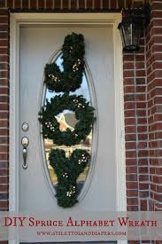 Ballard Designs Christmas Wreaths Diy Spruce Alphabet Wreaths Ballard Design Style