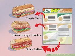 How To Order A Subway Sandwich 12 Steps With Pictures