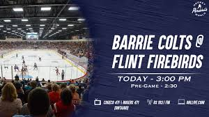 Barrie Colts Arena Seating Chart Preview 10 Firebirds Host Colts For Grandparents Day At 3