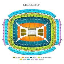 Nrg Concert Seating Chart Nrg Seating Map Trumbee Club