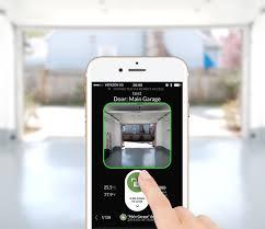 open garage door with iphoneGarage App To Open Garage Door  Home Garage Ideas