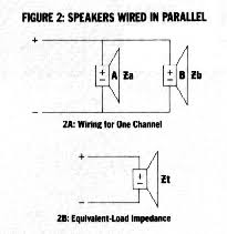 how to car stereo series vs parallel wiring speakers in parallel