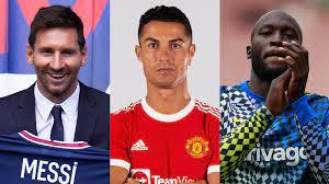 Cristiano Ronaldo and Lionel Messi the ...